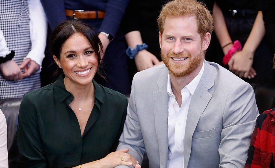 Meghan y príncipe Harry