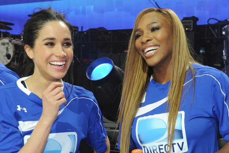 Meghan Markle y Serena Williams