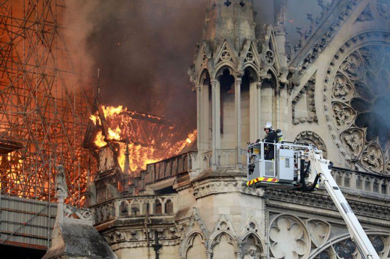 Incendio de la catedral de Notre Dame