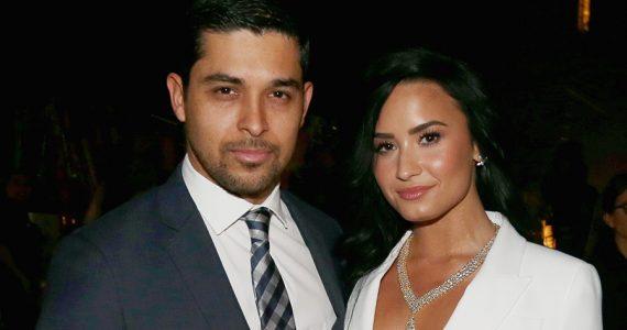 Wilmer Valderrama y Demi Lovato