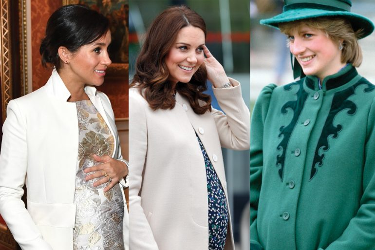Kate Middelton, Meghan Markle, Lady Di, royals