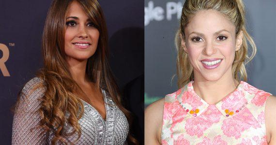 Shakira y Antonella
