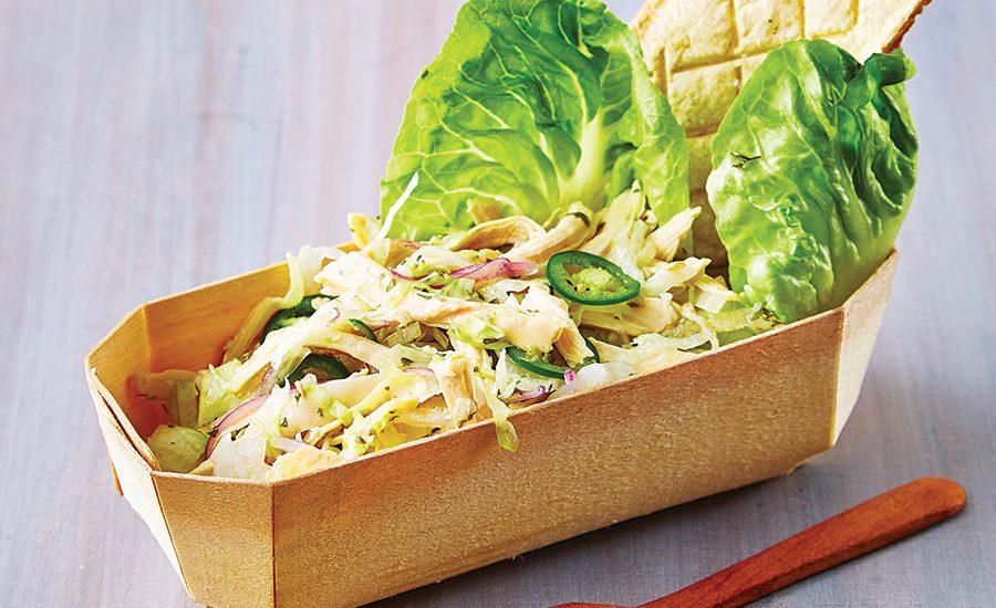Ensalada de salpicón de pollo