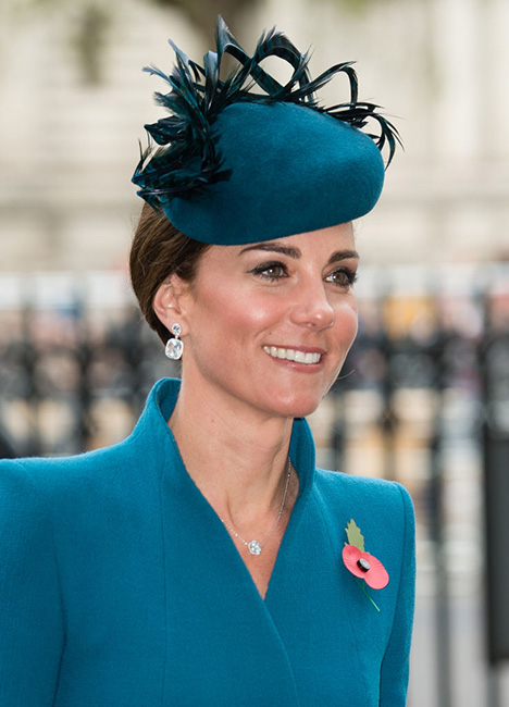 Kate Middleton en el día de ANZAC