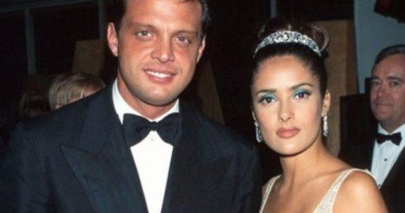 Luis Miguel y Salma Hayek