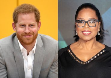 Príncipe Harry y Oprah Winfrey