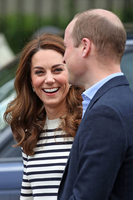 William y Kate Kate en la regata de King's Cup