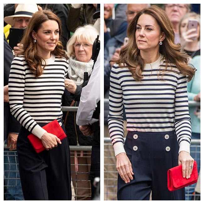 Kate en la regata de King's Cup