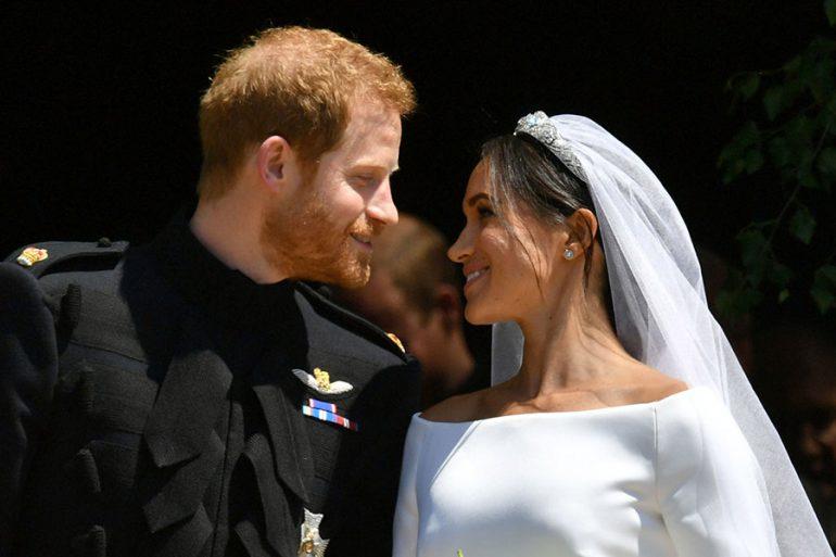 Duques de Sussex en día de su boda