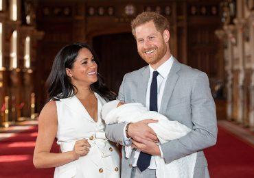 Meghan, Archie y Harry