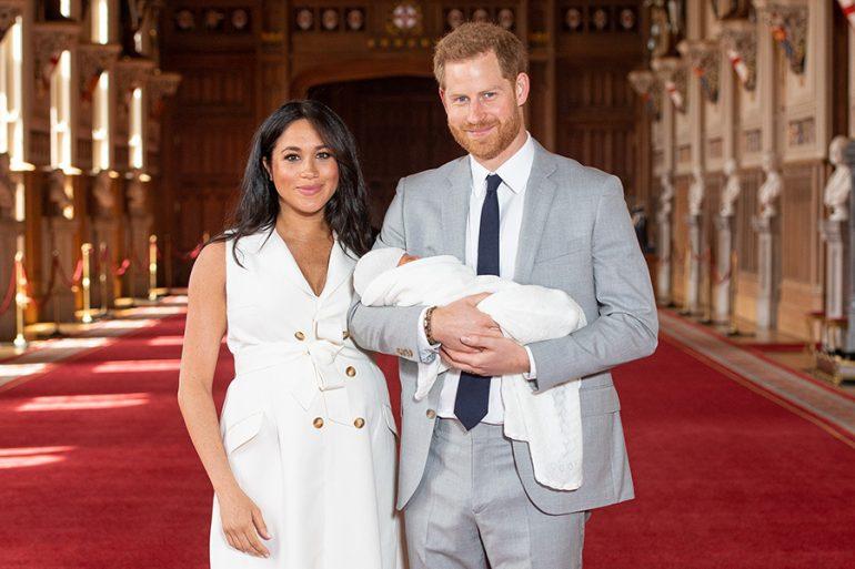 Duques de Sussex y Archie
