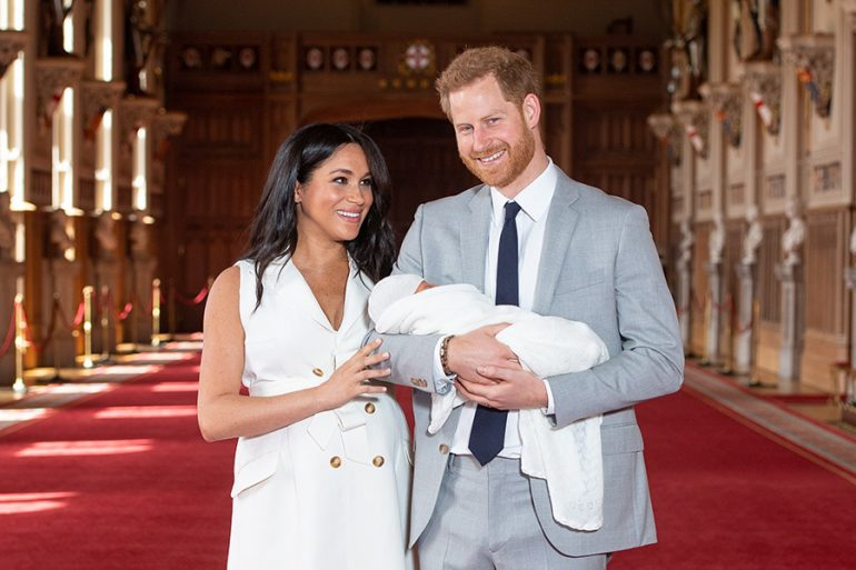 Meghan, Harry y bebé Sussex