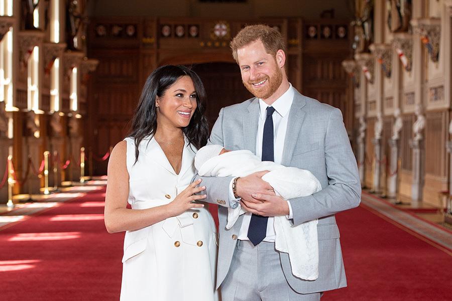 Meghan, Harry y bebé Sussex