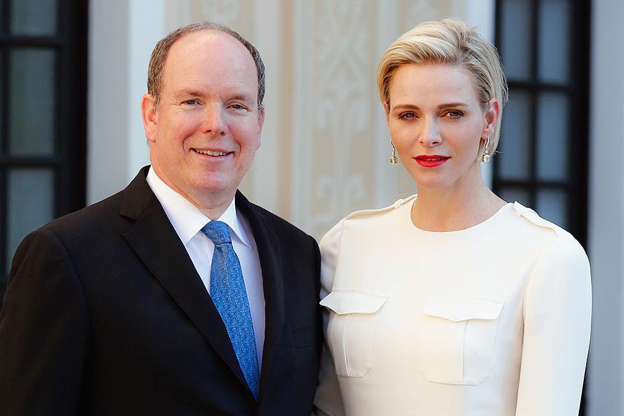 Príncipe Alberto de Mónaco, princesa Charlene de Mónaco.