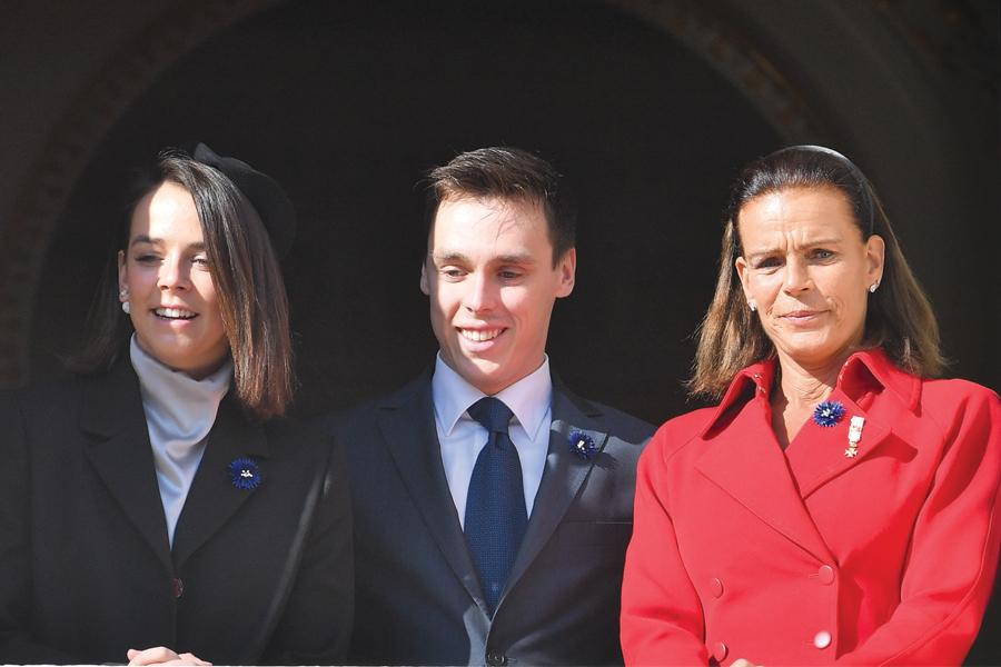 Estefania de Mónaco, Louis y Pauline Ducruet