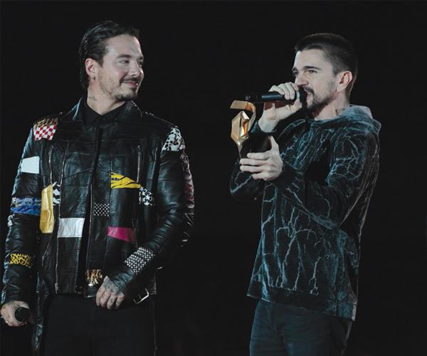 Juanes, J Balvin