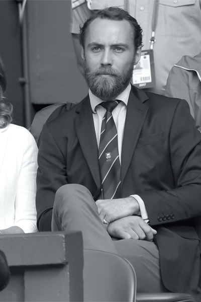 James William Middleton, Depresión en la realeza