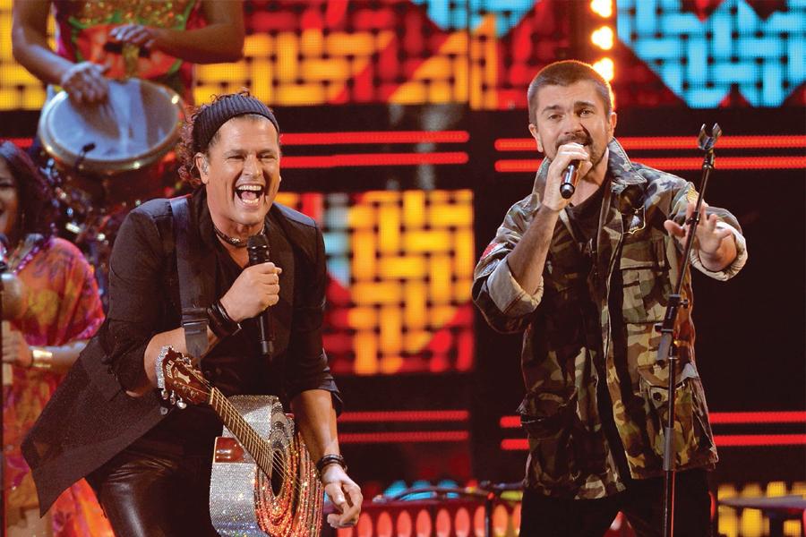 Juanes y Carlos Vives