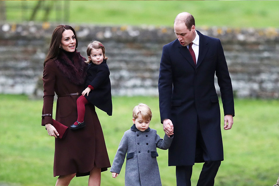 Kate Middleton,William