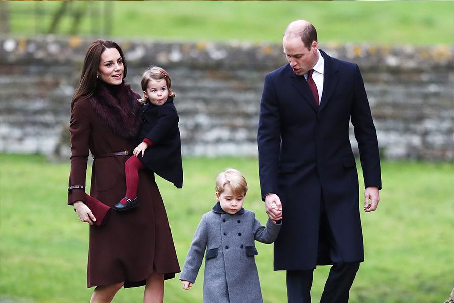 Kate Middleton,William