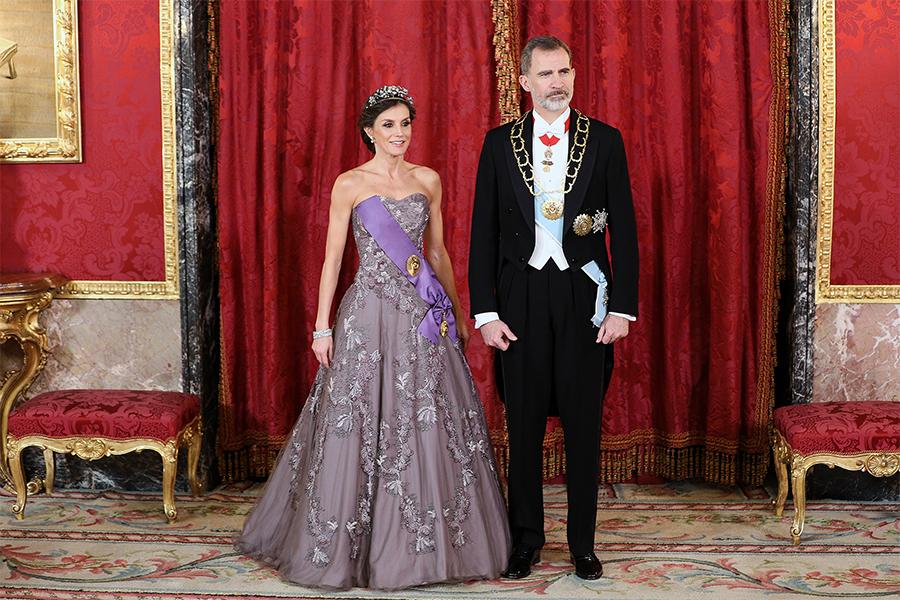 Reina Letizia, Rey Felipe VI