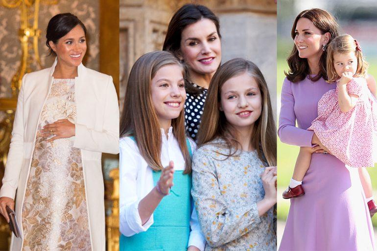 Madres de la realeza