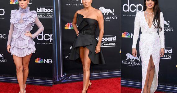 Moda en los premios Billboard 2019