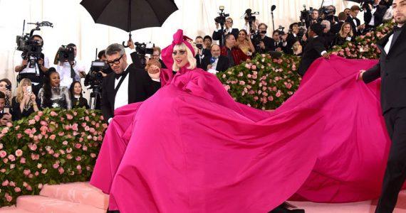 Lady Gaga en la Gala MET