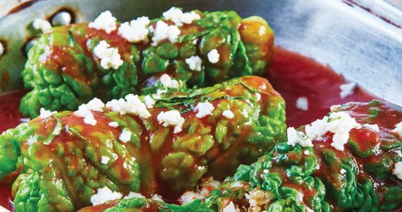 Kale con quinoa