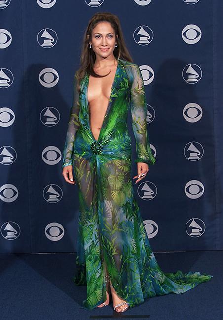 Jennifer Lopez y su mítico vestido Versace