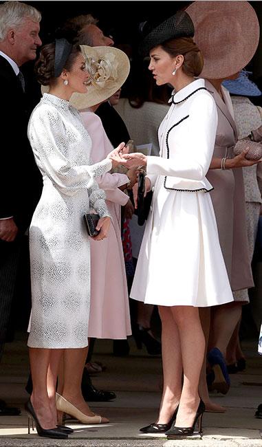 Reina Letizia y Kate Middleton