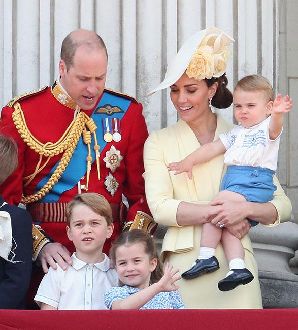 Príncipe Louis en Trooping the Colour