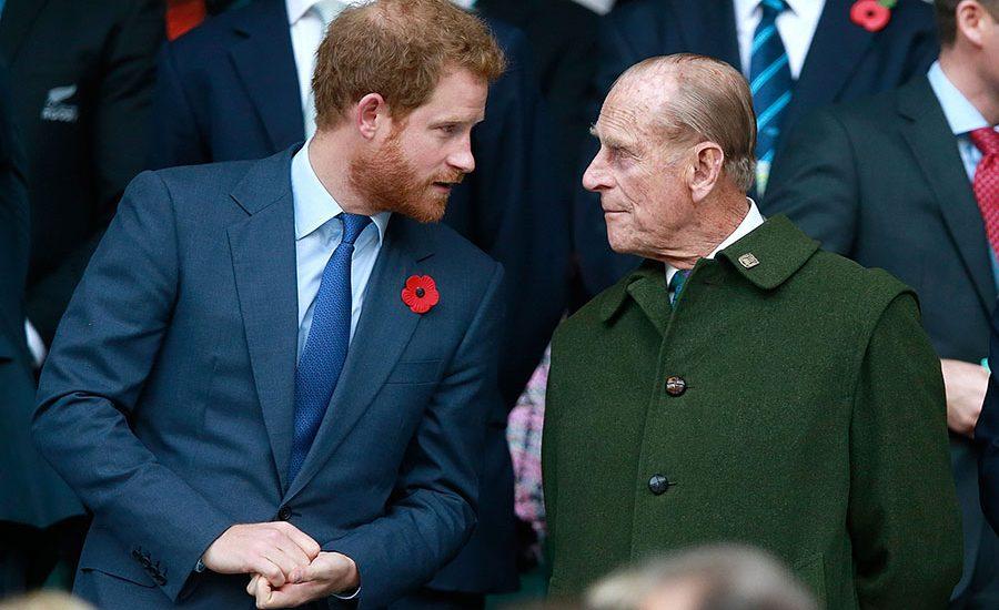 Príncipe Harry y duque de Edimburgo