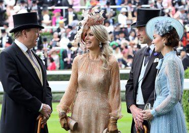 Máxima y Kate en Royal Ascot
