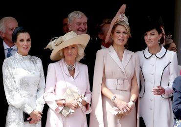 Reina Letizia, Camilla, reina Máxima y Kate Middleton