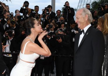 Selena Gomez y Bill Murray
