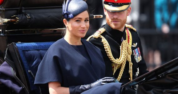 Meghan en Trooping the Colour