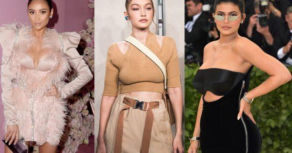 Kylie Jenner, Gigi Hadid, Shay Mitchell
