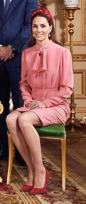 Kate Middleton en el bautizo de Archie
