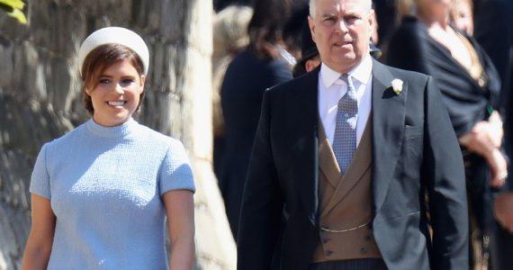 Princesa Eugenia y príncipe Andrés