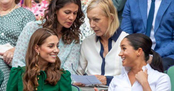 Meghan y Kate en Wimbledon