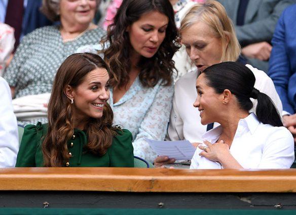 Kate y Meghan en Wimbledon