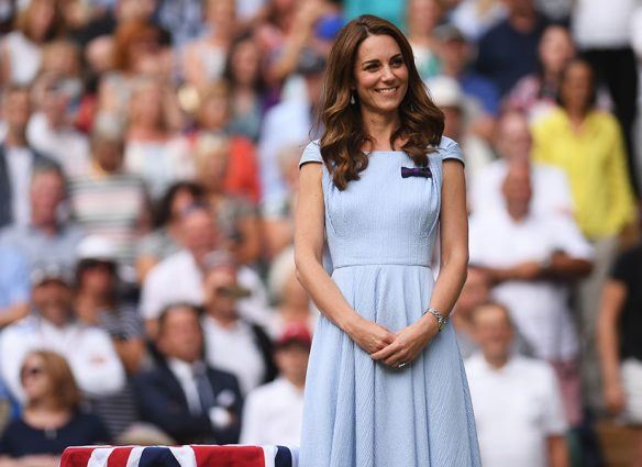 Kate Middleton en Wimbledon