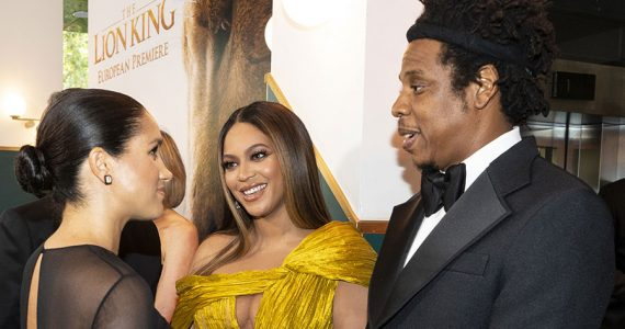 Harry, Meghan, Beyoncé y Jay-Z