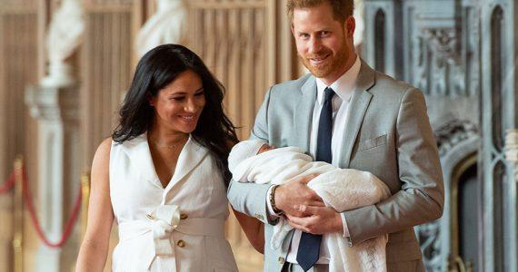 Meghan, Harry y Archie