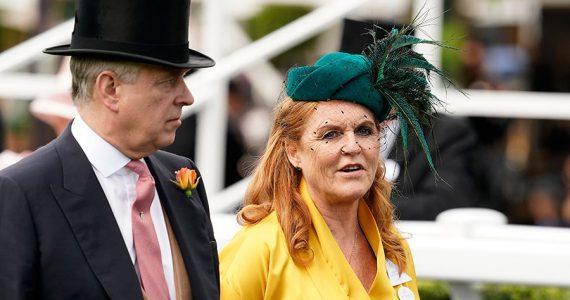 Príncipe Andrés y Sarah Ferguson
