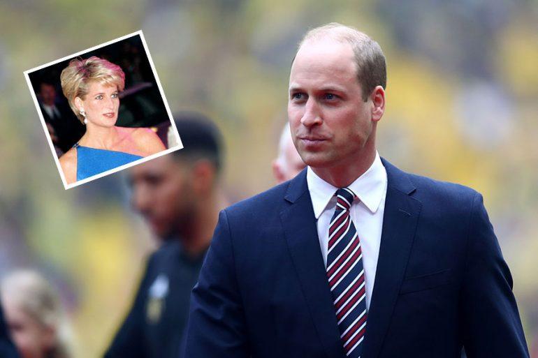 Príncipe William y princesa Diana