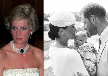 Princesa Diana y bautizo de Archie