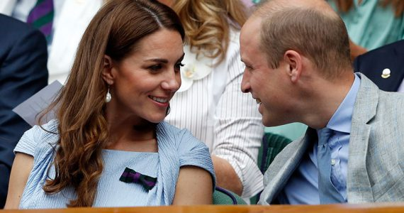 William y Kate en Wimbledon