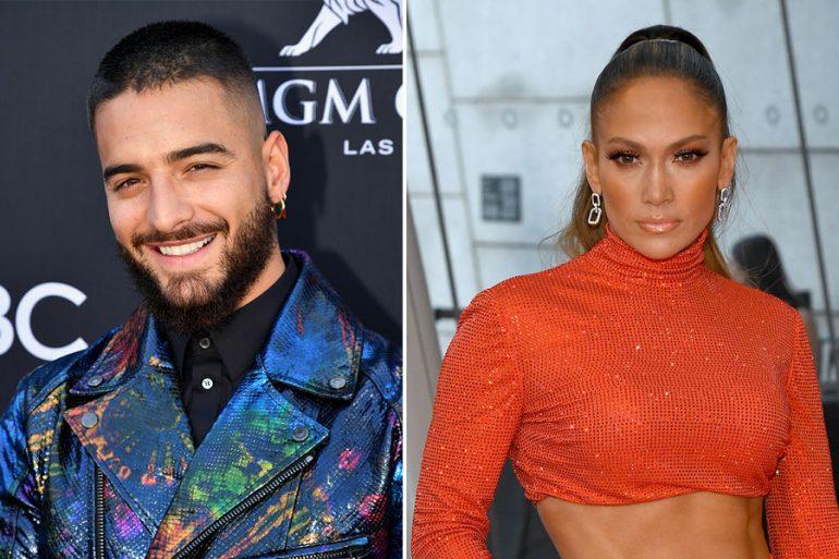 ¿Qué tienen entre manos con Jennifer Lopez y Maluma?